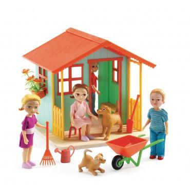Zestaw domek w ogrodzie Djeco