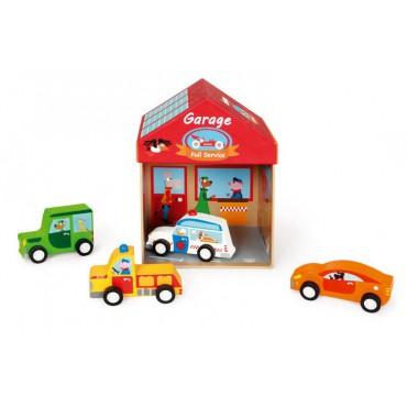 Domek Garaż 2w1 Scratch