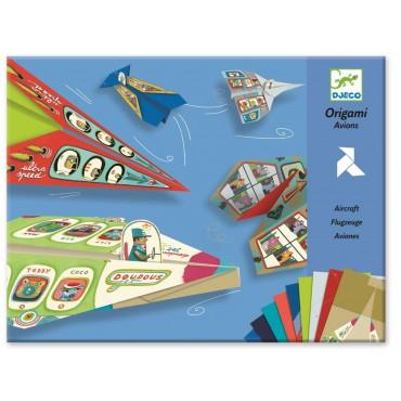 Origami zestaw Samoloty Djeco