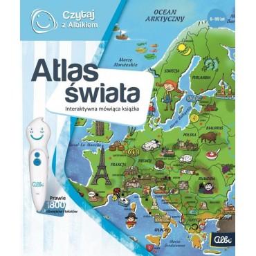 Czytaj z Albikiem. Atlas...