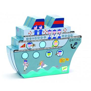 Gra planszowa w statki Djeco