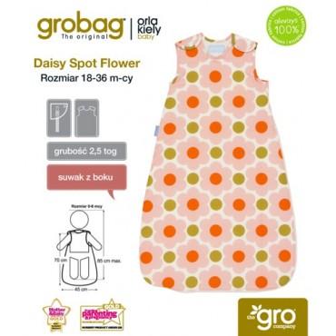 Śpiworek Orla Kiely Daisy Spot Flower - 2,5 tog Gro Company