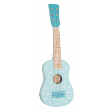 Drewniana gitara pastelowy...