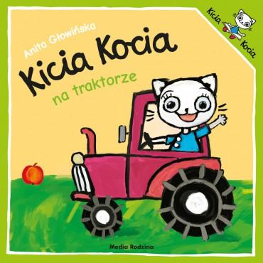 Kicia Kocia. Na traktorze...