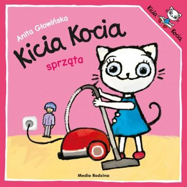 Kicia Kocia. Sprząta...