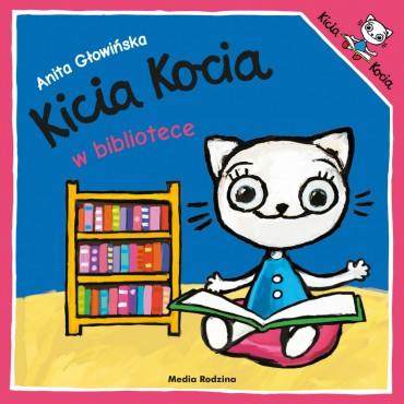 Kicia Kocia. W bibliotece...