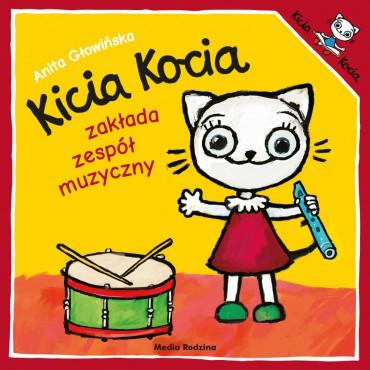 Kicia Kocia. Zakłada zespół...