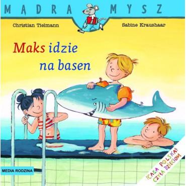 Maks idzie na basen Mądra...