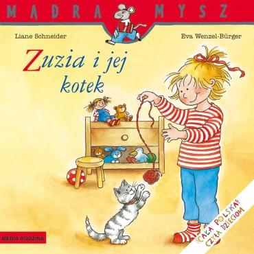 Zuzia i jej kotek Mądra...