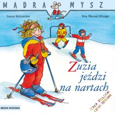 Zuzia jeździ na nartach...