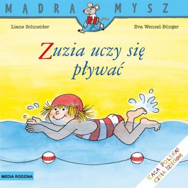 Zuzia uczy się pływać Mądra...