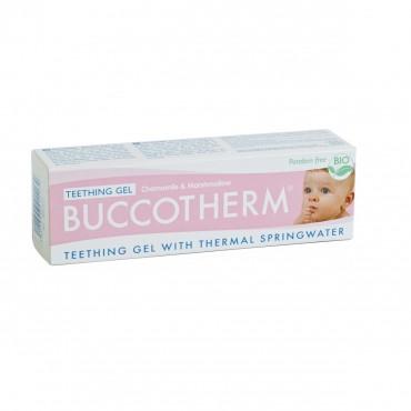 Buccotherm - żel na ząbkowanie dla niemowląt. Bez parabenów, PEG, SLS oraz substancji znieczulających 50ml