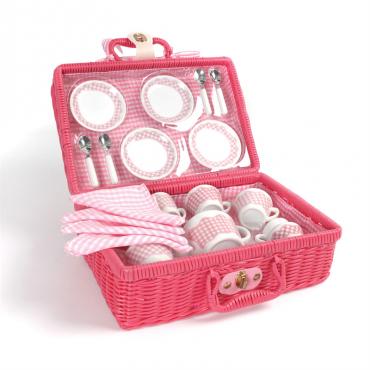 Różowy zestaw piknikowy Tidlo