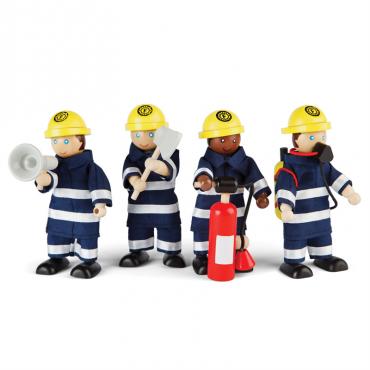 Zestaw strażaków Tidlo