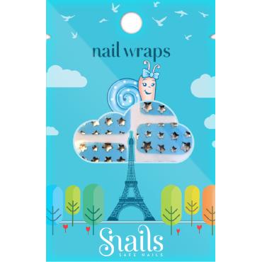 Naklejany lakier Nail Wraps...
