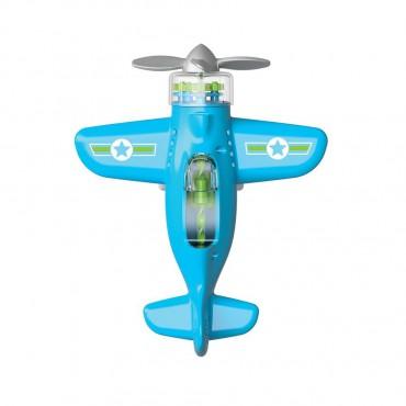 Sprytny Samolot Niebieski....