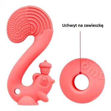 Gryzak Zabawka Squirrel Red Mombella