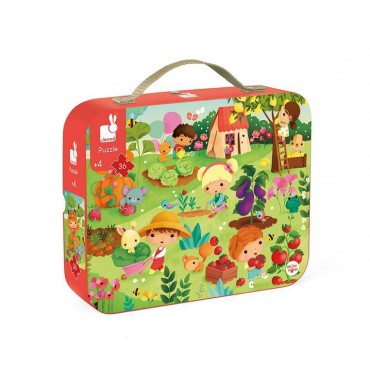 Puzzle w walizce Ogród 36...