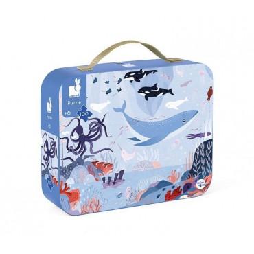Puzzle w walizce Ocean...