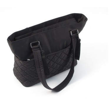Summer Torba Do Wózka Quilted Tote Black