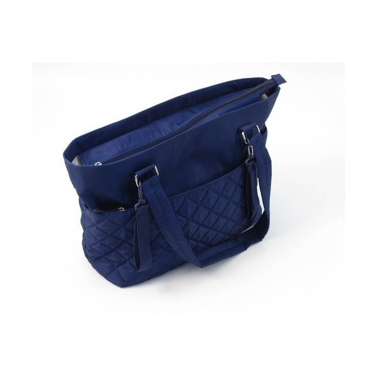 Summer Torba Do Wózka Quilted Tote Blue