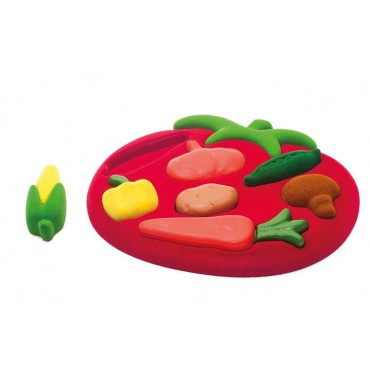 Sorter Puzzle 3D Warzywa...