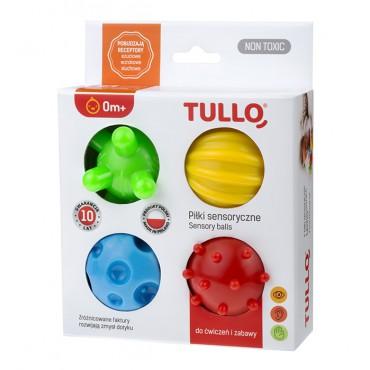 Piłki sensoryczne 4 szt. Tullo