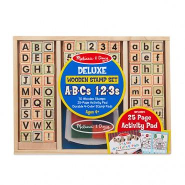 Zestaw pieczątek ABC-123...