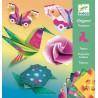 Origami Tropiki neonowe Djeco