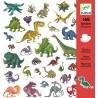 Zestaw naklejek Dinozaury...