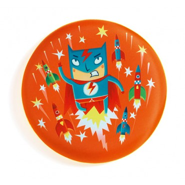 Latajacy dysk Super Bohater...