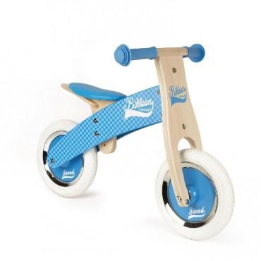 Rowerek biegowy niebieski Little Bikloon 2+ Janod