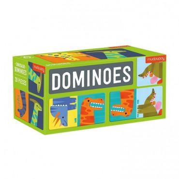 Gra Domino Dinozaury Mudpuppy