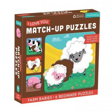 Pierwsze puzzle I Love You...