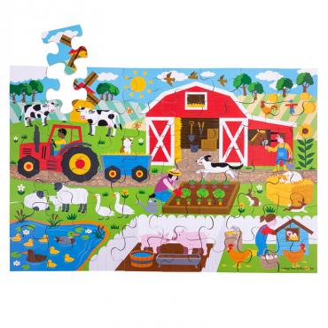 Puzzle Farma BigJigs
