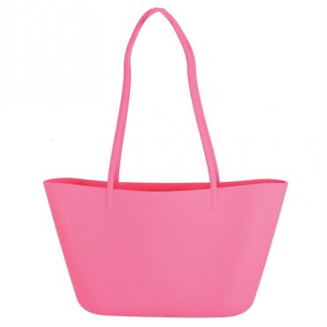 Różowa torebka plażowa Scrunch