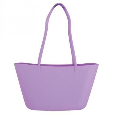 Fioletowa torebka plażowa...