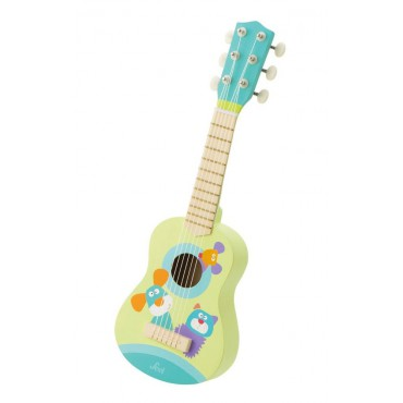 Gitara drewniana pastelowe...