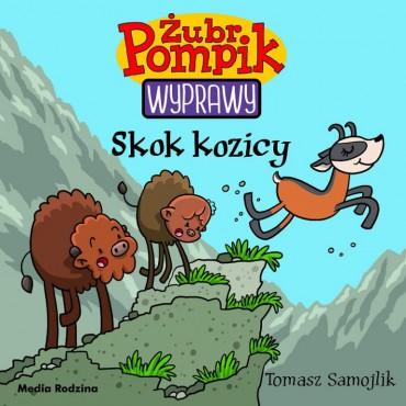 Żubr Pompik. Wyprawy. Tom 16. Skok Kozicy Wydawnictwo Media Rodzina