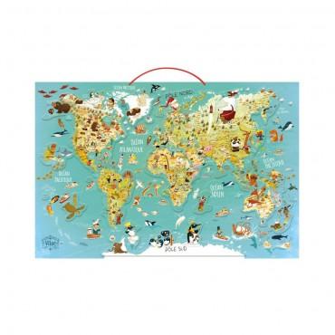 Magnetyczna Mapa Świata...