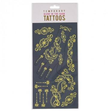 Tatuaże fluorescencyjne dla...