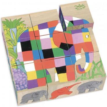 Słoń Elmer układanka...