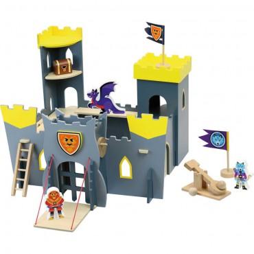 Duży drewniany zamek do...