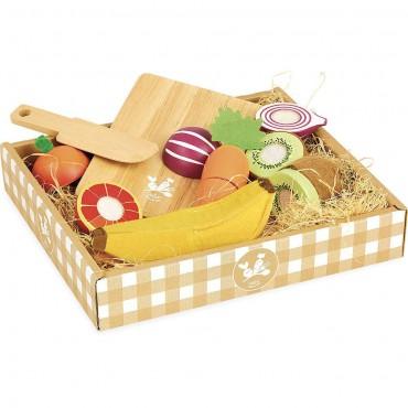 Owoce i warzywa do krojenia...