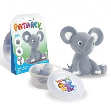 Słoń z masy plastycznej...