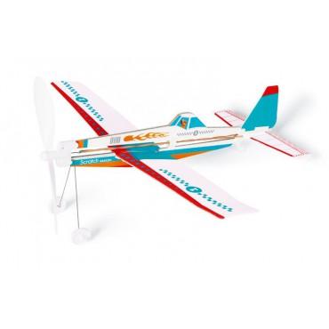 Samolot Niebieski Scratch