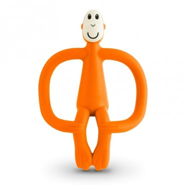 Gryzak masujący ze szczoteczką Orange Matchstick Monkey