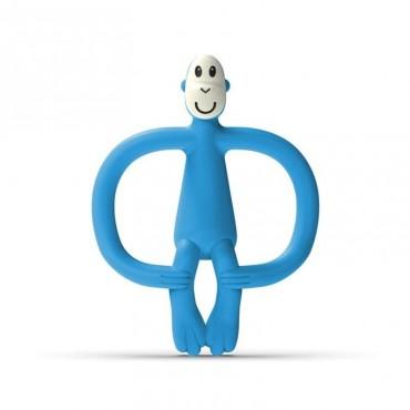 Gryzak masujący ze szczoteczką Azure Blue Matchstick Monkey