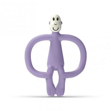 Gryzak masujący ze szczoteczką Lavender Purple Matchstick Monkey