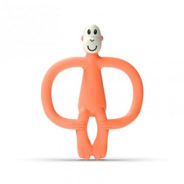 Gryzak masujący ze szczoteczką Dusty Orange Matchstick Monkey